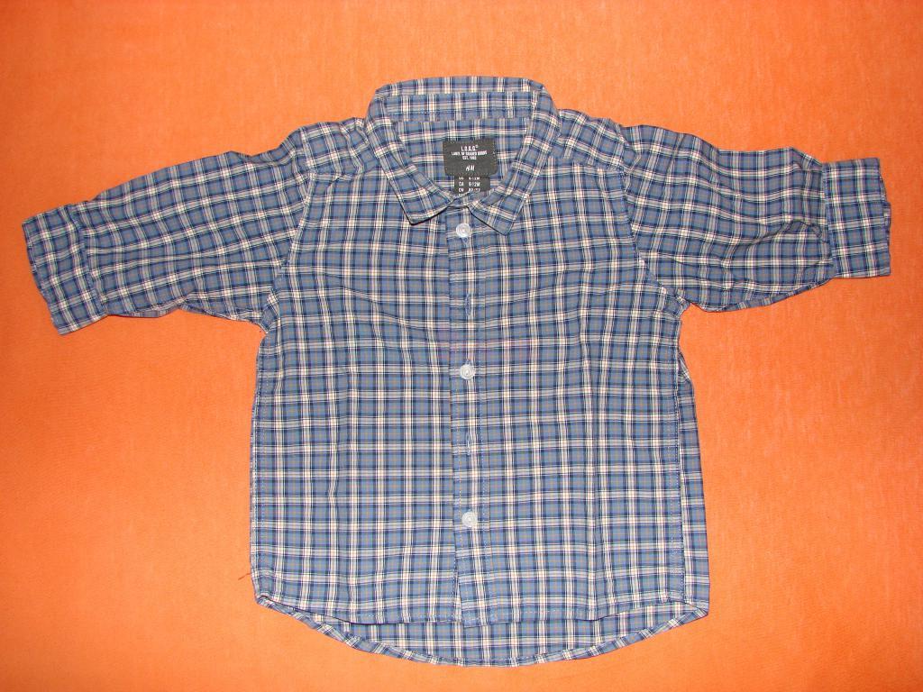 Prodám Dětské chlapecké košile s dlouhým rukávem - 120 17572e5e52
