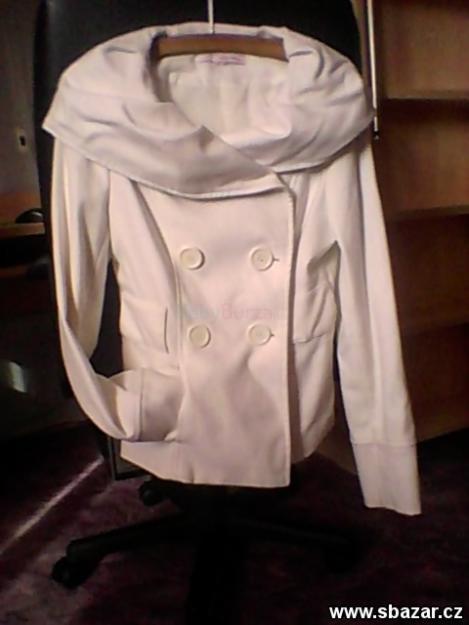 Prodám Bílý kabátek Tally Weijl - 450 32fc10d793