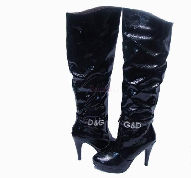 Prodám Dolce Gabbana KOZAČKY - 3 790 6719f94eb7