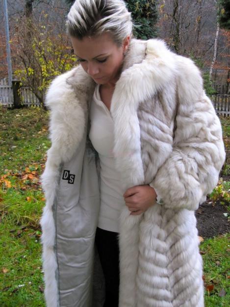 Prodám nadherny luxusni kozich kabat - 19 999 d1fe62a524