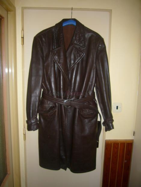 Prodám pánský kožený kabát - 2 000 45fad15e51