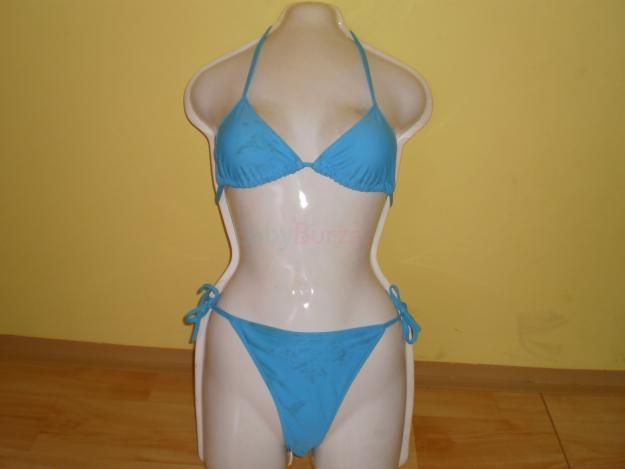 a62ca6b5500 Prodám dámské použité plavky modré dvoudílné šněrovací a žluté dámské  použité plavky dvou