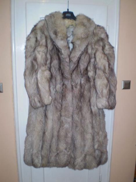 Prodám Prodám kožich stříbrná liška - 7 990 4384bc10ce