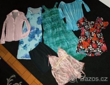 Balík dámského oblečení velikost převážně 40-42