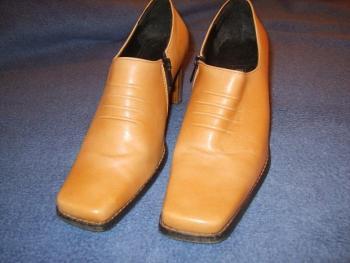 Kožené boty - VEL.38