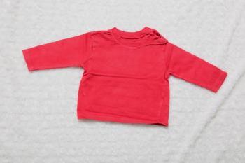 červené ba tričko UNI