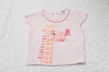 tričko se žirafkou
