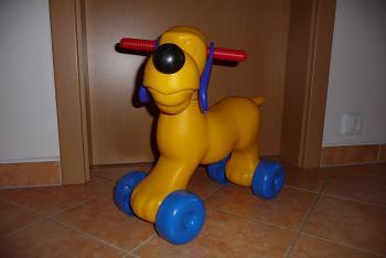 Odrážedlo - pes