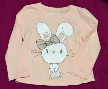Krásné triko s králíčkem pro holčičky