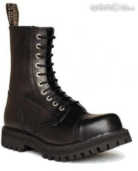 Boty Steel černé vel. 41