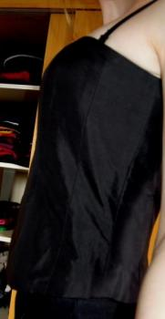 Černý sexy korzet Marks&Spanceer