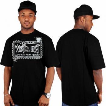 Hip Hop Tričko Gangster Hood Ramirez velikost XXL