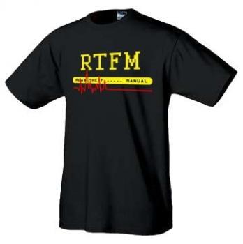 IT tričko - RTFM