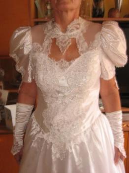 Krásné svatební šaty-dovoz Rakousko