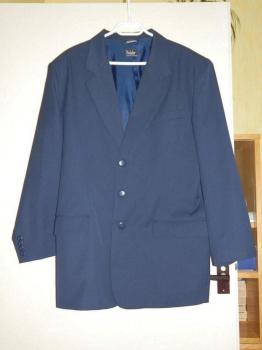 Pánské sako modré a vínově červené – nové