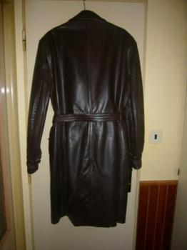 pánský kožený kabát