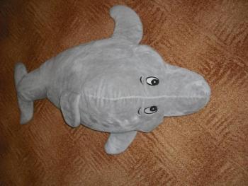 Plyšová velká velryba