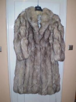 Prodám kožich stříbrná liška