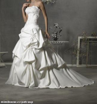 Svatební šaty velikost 38