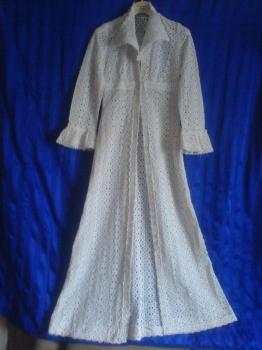 Svatební šaty z roku 1976